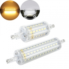 R7S LED 78mm 118mm Bulb Light 5W 10W J78 J118 Double Ended Floodlight replace R7S Halogen Lamp-Pack of 2