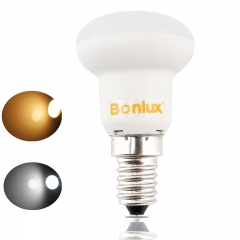 LED R39 Mini E14 Base R39 Mini Reflector Light Bulb LED 3W Mushroom Shaped R39 Ball Bulb Flood Light Bulb- Pack of 3
