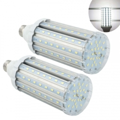 Led Corn Light Bulb 35W Medium Screw Base E26/E27 Garage Bay Led Lighting Outdoor Street Light CFL Replacement, 2-pack (Remove or Bypass Ballast)