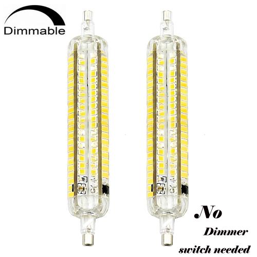 5W Base Light Dimmable R7S Bulbs R7S J118 1052 65 4 LED Way 118mm 3 TFl3J1cK
