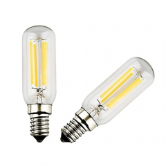 4W T26 E14 LED Tubular Filament Light Bulb , SES Small Screw Fitting Lamp, 20W Replacement (2-pack)