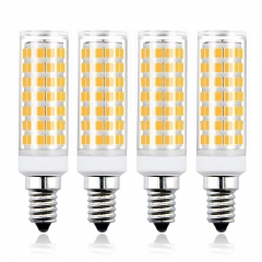 Bonlux E14 LED Corn Light Bulb Dimmable 7W 650LM Small Edison Screw LED Light Bulb (4 Pack)