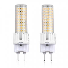 Bonlux 15W G8.5 LED Light Bulb G8.5 Bi Pin Base Corn Light 150W Halogen Replacement, 2-Pack