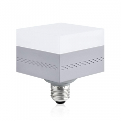 For USA 100% Free 13W LED E26 Square Lighting with Rotatable Base Daylight 6000K