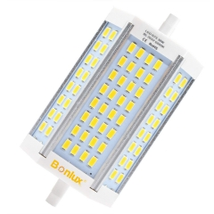 For UK 100% Free Bonlux 30W R7S J118 LED Bulb T3 R7S Dimmable Light J Type Double Ended 300W Halogen